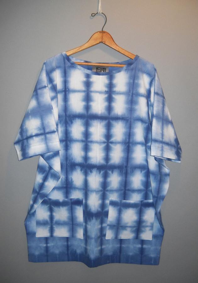 dolman sleeve tunic with pockets