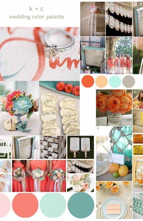 color palette for wedding