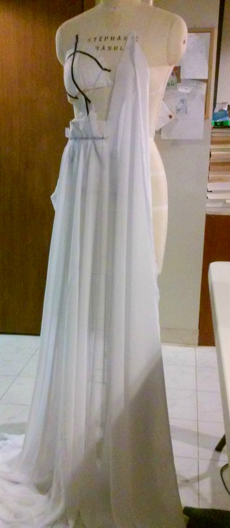 draping second test skirt