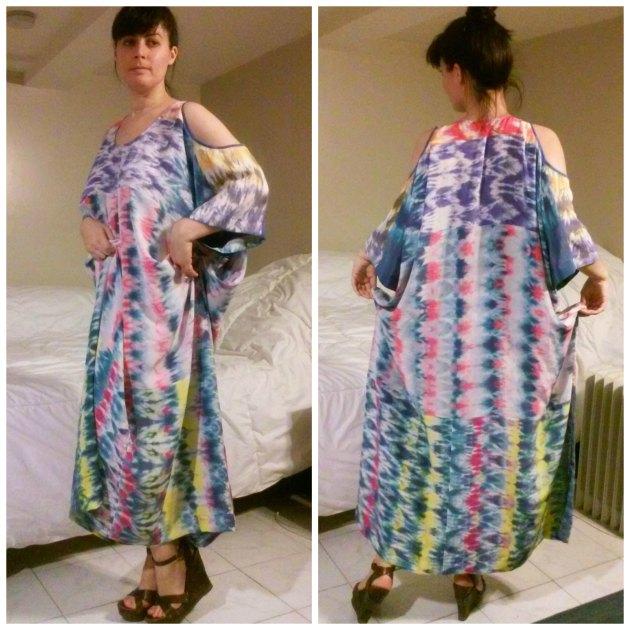 colorful kaftan
