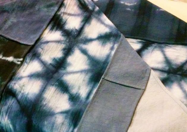 shibori patchwork
