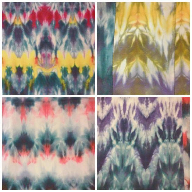 shibori collage